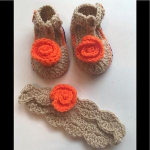9eced90fce814 Kids Crochet Baby Sandals on Poshmark